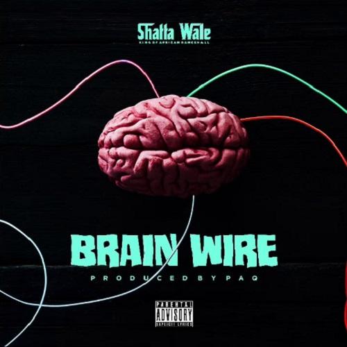 Shatta Wale Brain Wire Freestyle Artwork