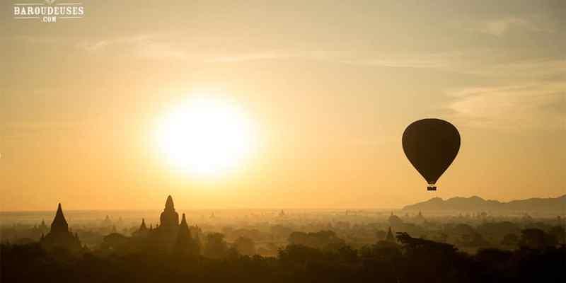 Lever de soleil en ballon - Bagan