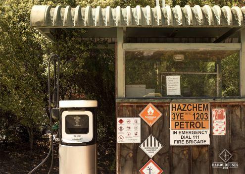Station essence à Marahau