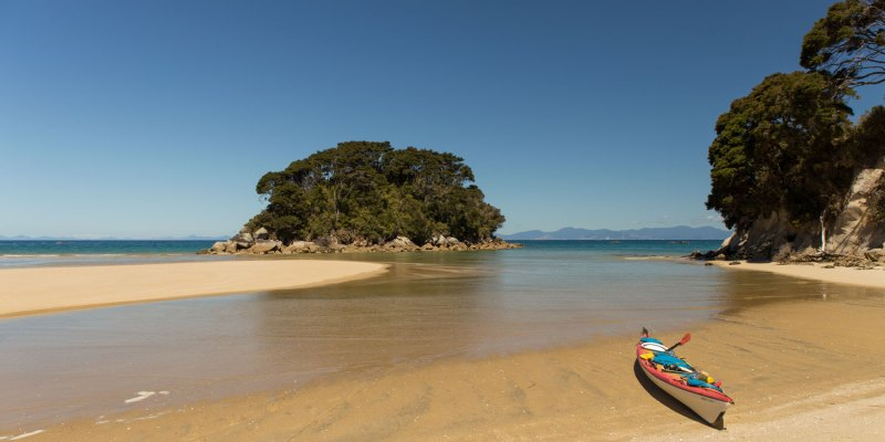 Kayak à Mosquito Bay - Abel Tasman National Park