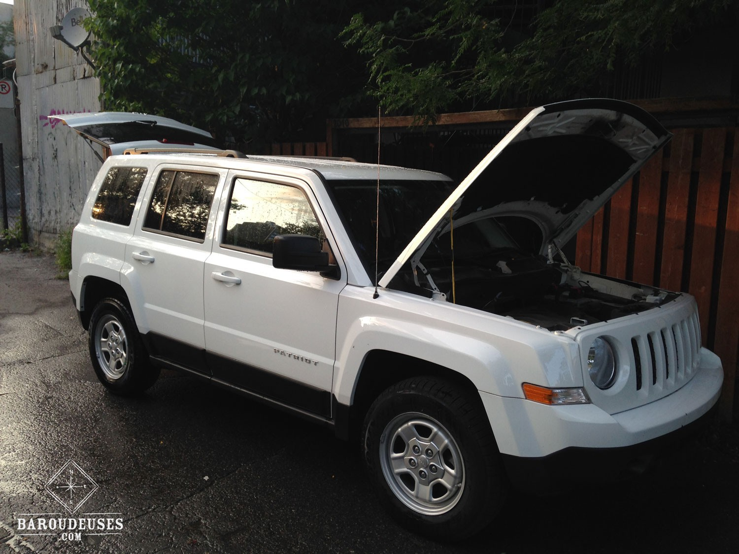 W-Jeep patriot baroudeuses