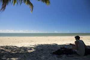 Clem - Plage au nord de Cairns
