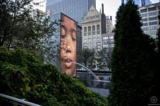 The Crown Fountain de Jaume Plensa - Millenium Park - Chicago