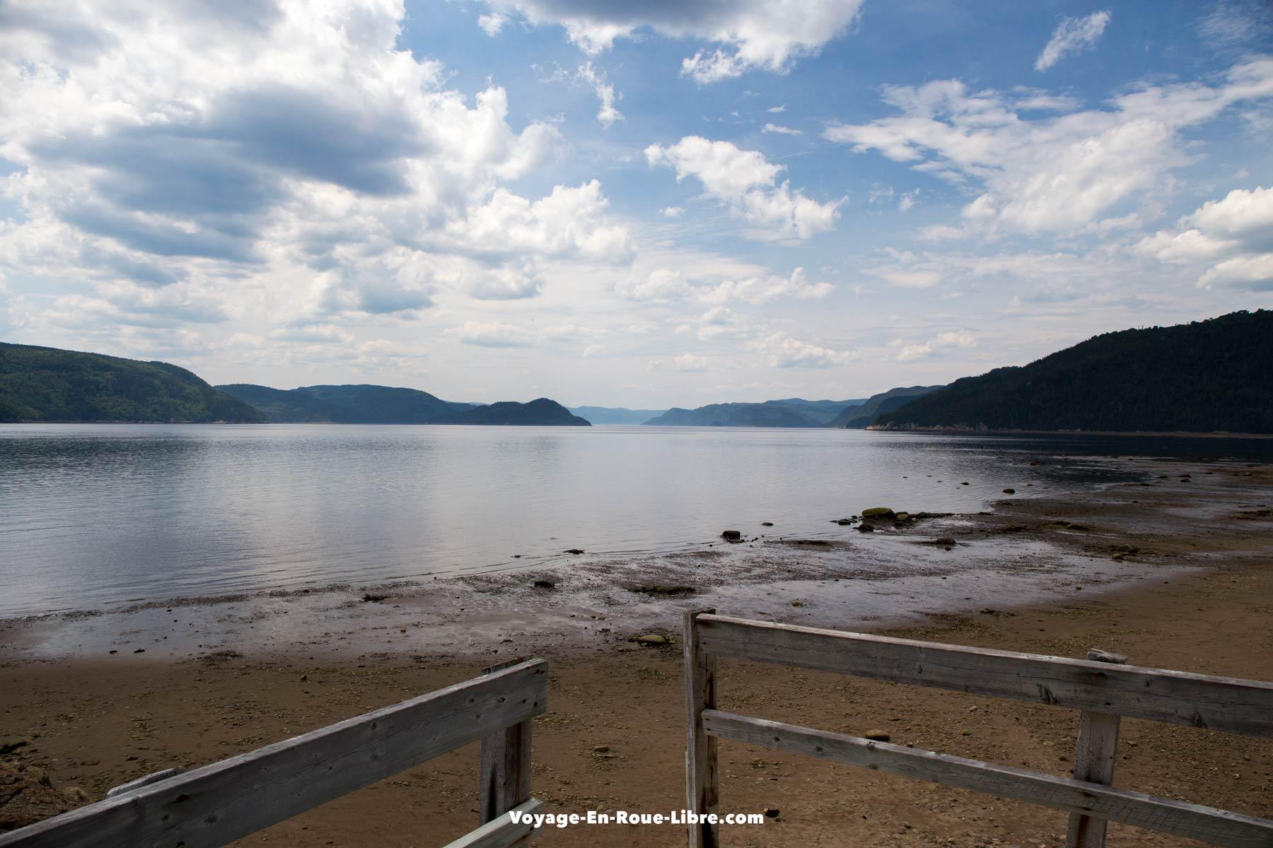 Halte du Béluga - Parc national du fjord du Saguenay