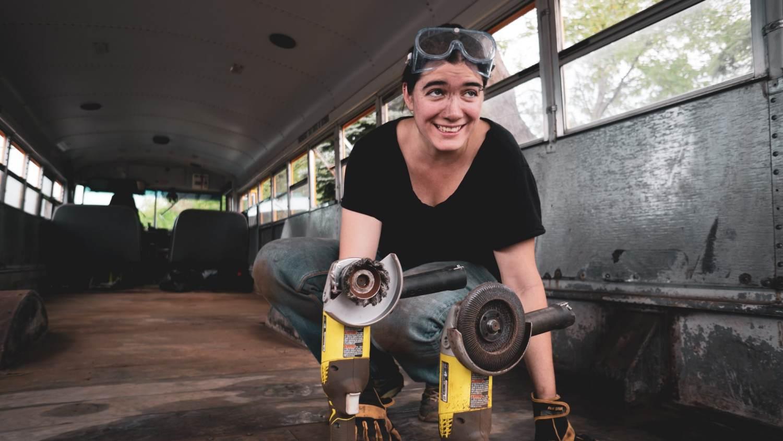 Mumu - bus aménagé - conversion - skoolie