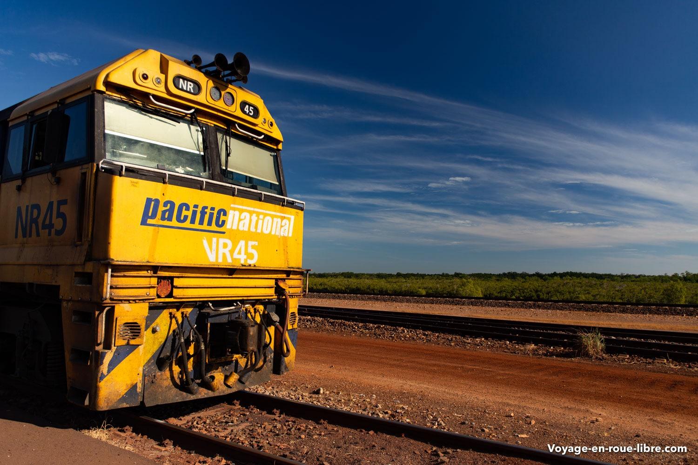 train - Australie