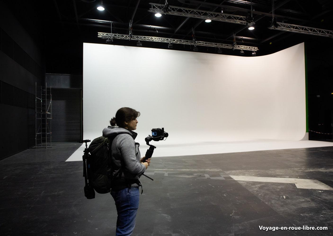 La Plaine Image située à Tourcoing - Métropole Européenne de Lille - studio de cinéma professionnels.