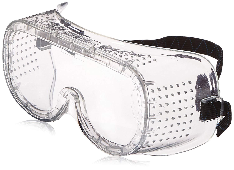 lunettes de sécurité pour éviter de recevoir des fragments de métal dans les yeux pendant les travaux du bus