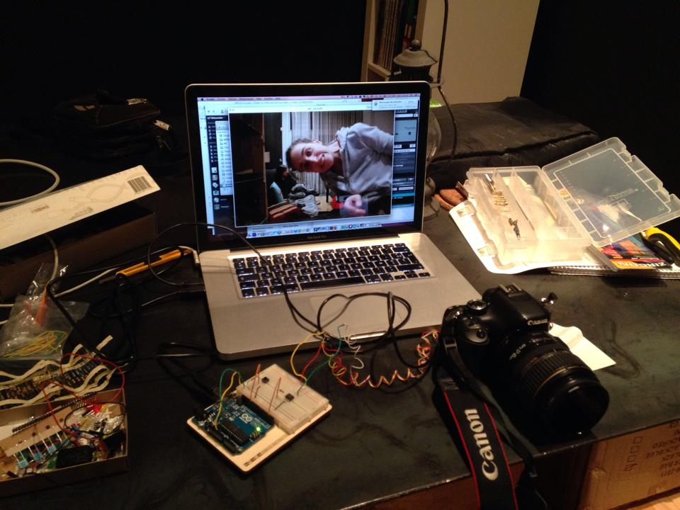La création du photomaton avec Arduino