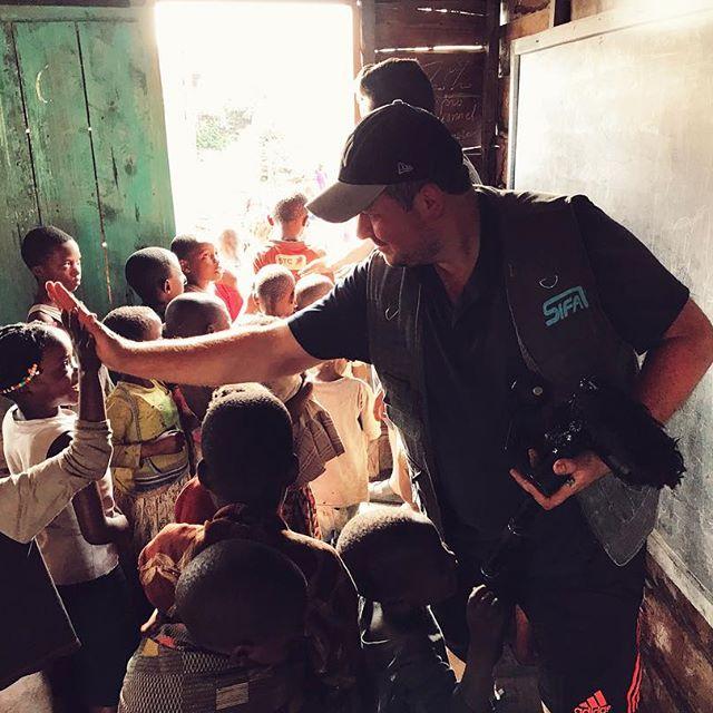 Un projet personnel fort : le tournage d'un documentaire engagé en RDC
