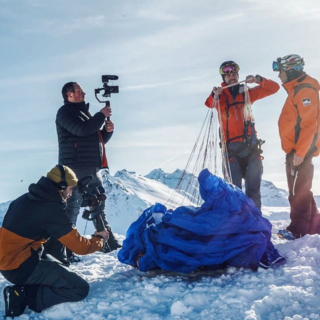 tournage vidéo en montagne par Uni Prod