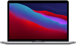 Le nouveau MacBook Pro 13 pouces de Apple avec la puce M1 : un des outils les plus performants de 2021 pour un créateur nomade. Le ratio poids/encombrement/ performance et vraiment incroyable.