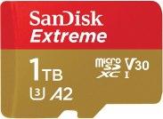 Les cartes micro-SD de Sandisk sont fiables et de haute capacité : jusqu'à 1 To.