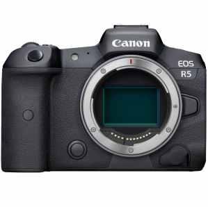 Le Canon Eos R5, un des meilleurs appareils photo et vidéo du moment.
