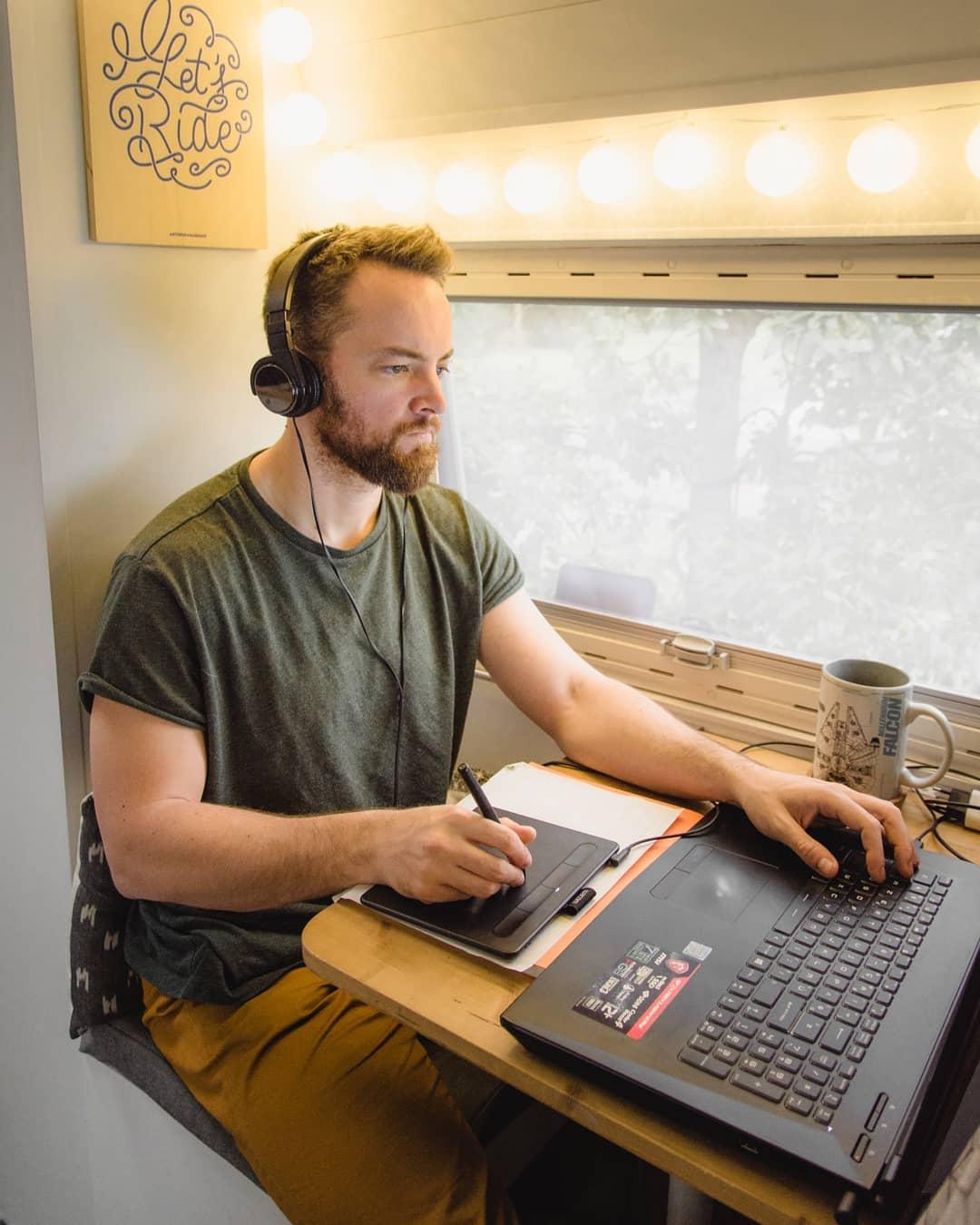 Motion designer et digital nomad