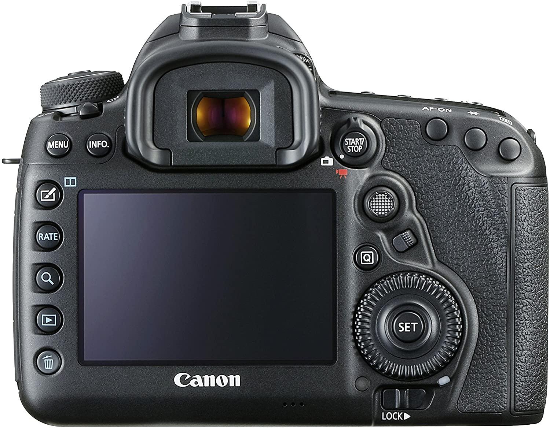 Canon EOS 5D Mark IV - back