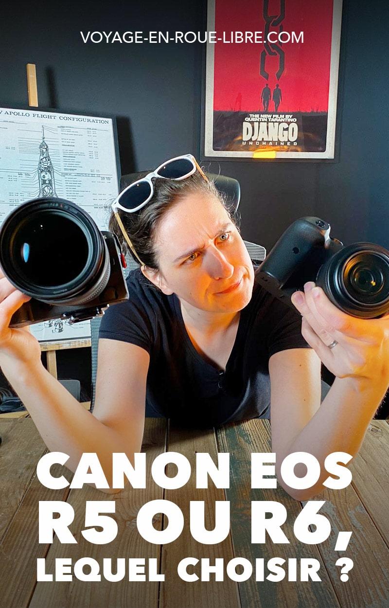 Tu sais que ton prochain hybride sera un Canon, mais lequel ?  Canon EOS R5 ou R6 ?  Ton coeur balance entre les deux modèles.   On te donne notre avis sur ces 2 boîtiers qu'on utilise régulièrement dans nos shootings professionnels.   #canon #canonR5 #canonR6 #materielphoto #materielvideo #photo #video #hybride #mirrorless