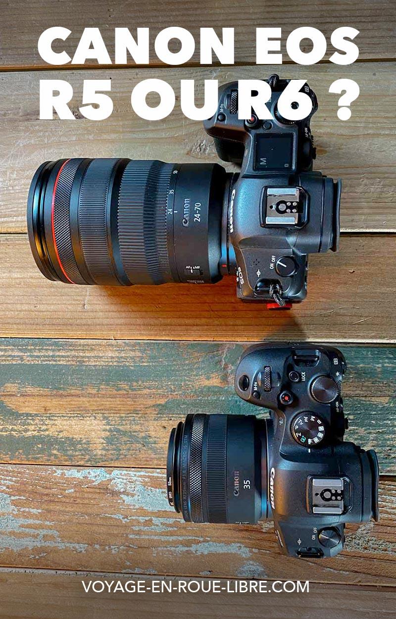 Canon EOS R5 ou R6 ?  On s'est posé la questions pendant plusieurs semaines.  Alors on a testé les 2 modèles en conditions réelles.  On te donne notre avis sur ces 2 boîtiers qu'on utilise régulièrement dans nos shootings professionnels.   #canon #canonR5 #canonR6 #materielphoto #materielvideo #photo #video #hybride #mirrorless