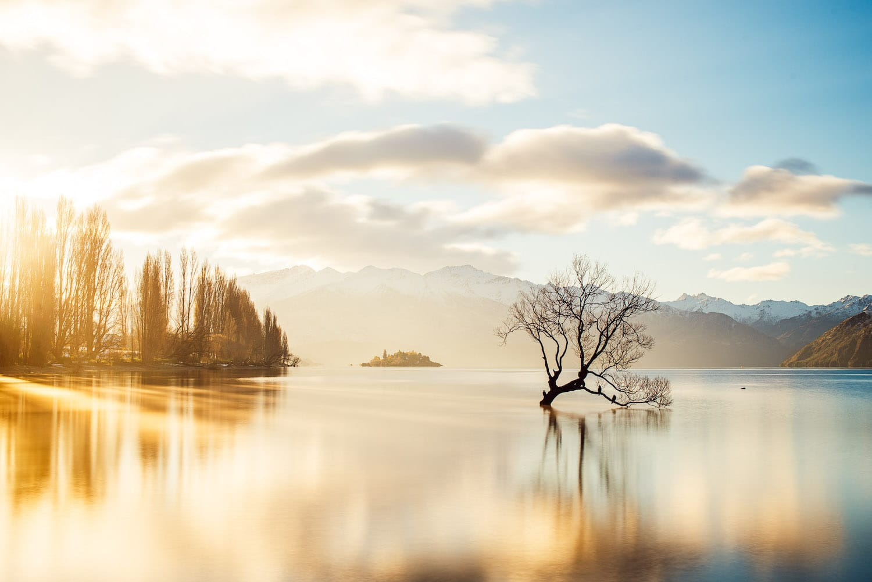 Photographie de paysage - pose longue - Wanaka - Johan Lolos