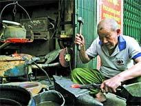La rue des forgerons, un souvenir du Hanoi de jadis