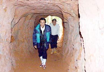 «A Xoo», le tunnel oublié de Quang Nam