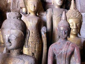 Grotte de Pak Ou, bouddhas - Laos