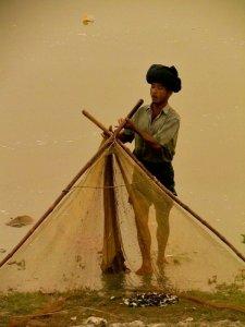 Pêche sur le lac Inlay, Birmanie