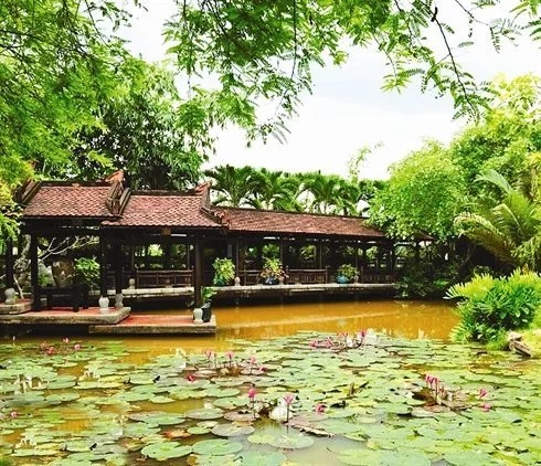 Le village d'artistes de Hàm Long