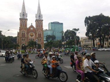 Saigon, circulation