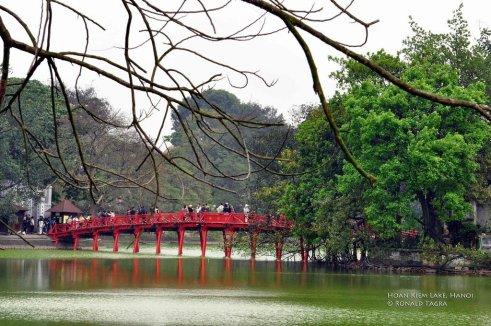 Hoan Kiem, Hanoi, Vietnam - Lac de l'Epée restituée