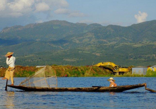 Lac Inle par Tee La Rosa
