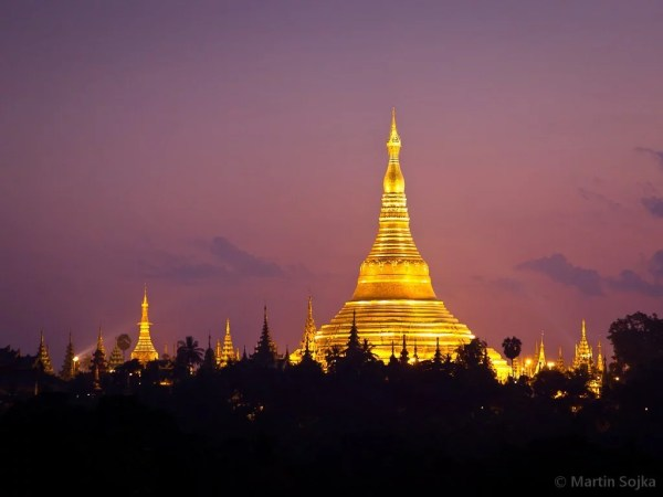 Shwedagon Paya par Martin Sojka