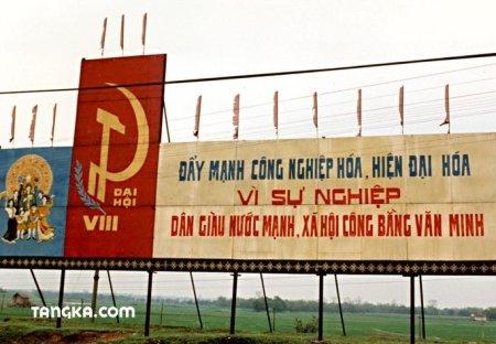 Panneaux de propagande, Vietnam