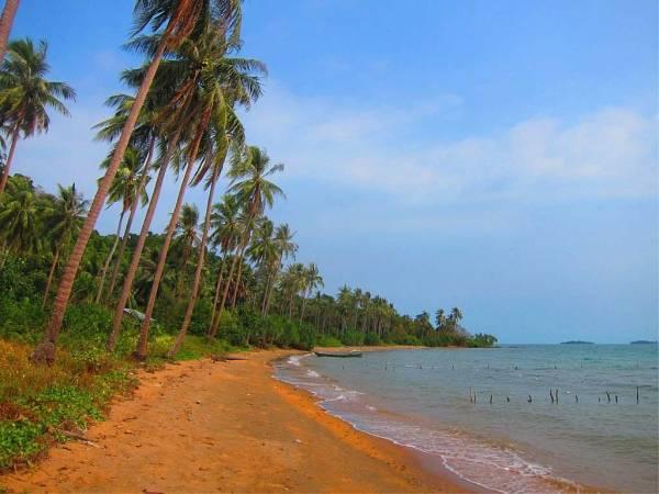 Plage - Koh Tonsay, Cambodge