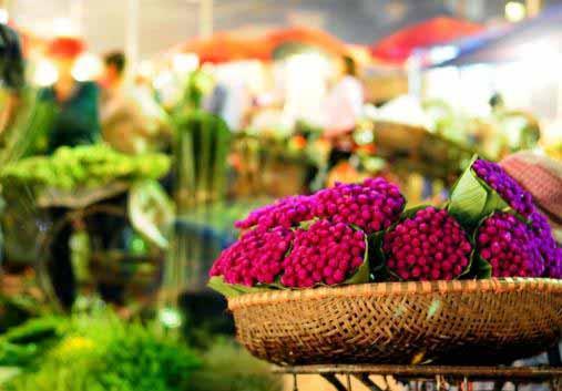 Marché aux fleurs, Hanoi - Vietnam
