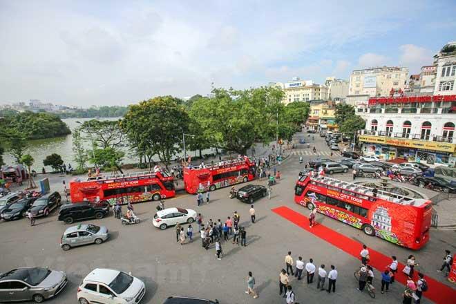 Bus à impériale - Hanoi, Vietnam