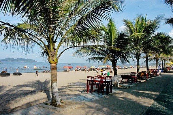 La plage de Cua Lo, province de Nghê An., Vietnam