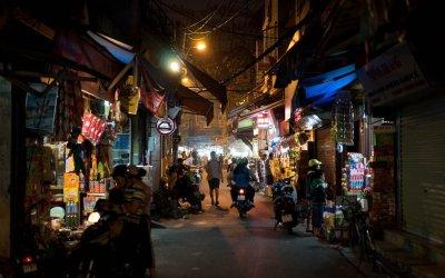 Les marchés nocturnes au Vietnam