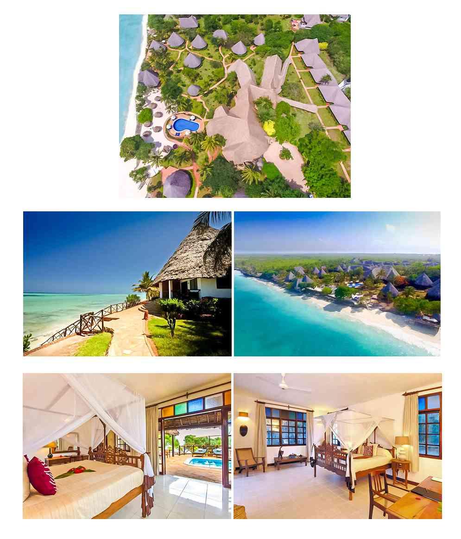 Ras Nungwi Hôtels côte Nord de Zanzibar
