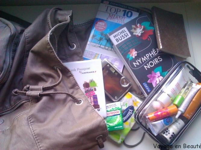 Les produits de beauté et autres indispensables à avoir dans son bagage à main pour un long voyage en avion ...