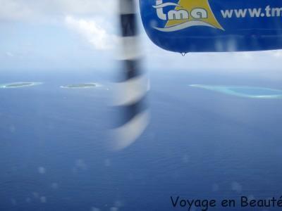 transfert hydravion Maldives par voyage en beauté