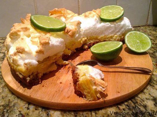 Key Lime Pie Meringuée réalisée par ma cousine Marielle
