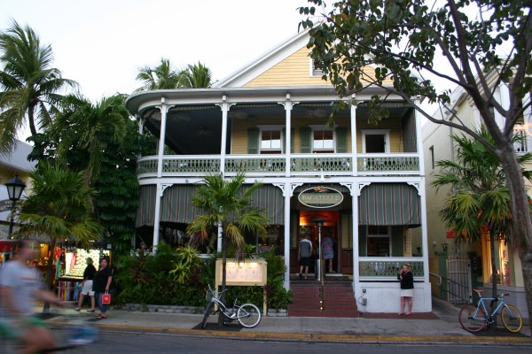 Anicenne maison transformée en restaurant de luxe sur Duval Street à Key West