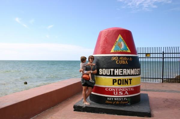 Southernmost point continental USA par voyage en beauté
