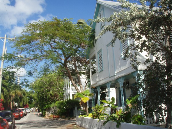 Les rues de Key West Floride