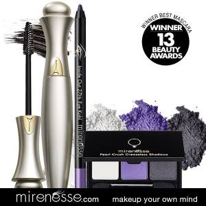 kit mirenesse smoky eyes purple voyage en beauté
