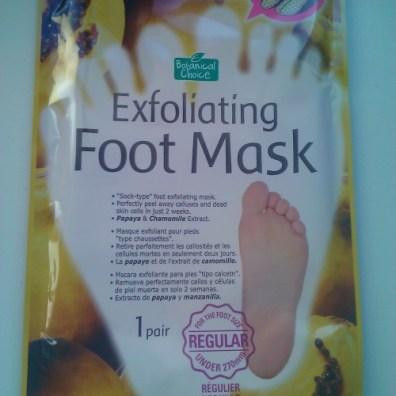 exfoliating foot mask memebox masque exfoliant por les pieds