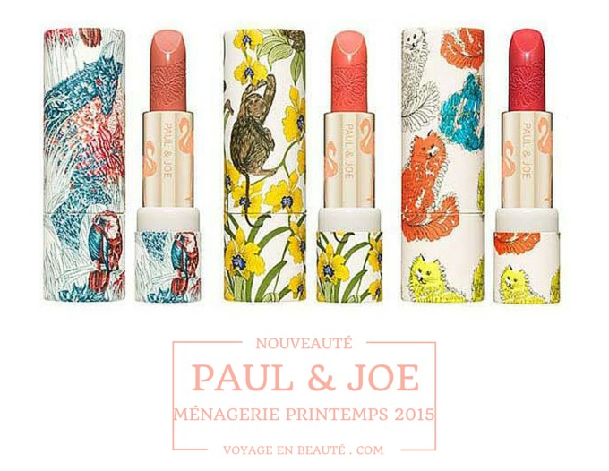 Paul-Joe-Menagerie-2015-Spring-nouveaute-printemps-maquillage-make-up-rouge-a-levres