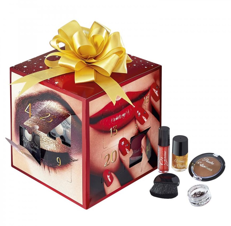 Calendrier avent nocibe cosmetique beaute noel 2015 idee - Idee cadeau calendrier de l avent adulte ...