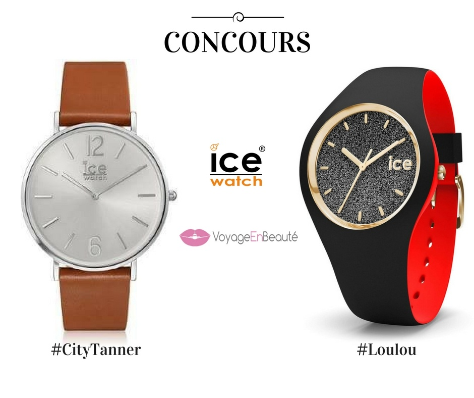 la nouvelle collection ice watch 2016 concours voyage en beaut. Black Bedroom Furniture Sets. Home Design Ideas